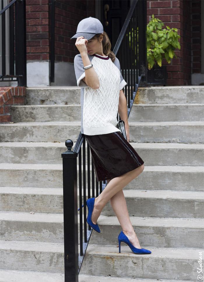 Cobalt Blue Shoes Wearing Cobalt Blue Shoes For Fall 2014