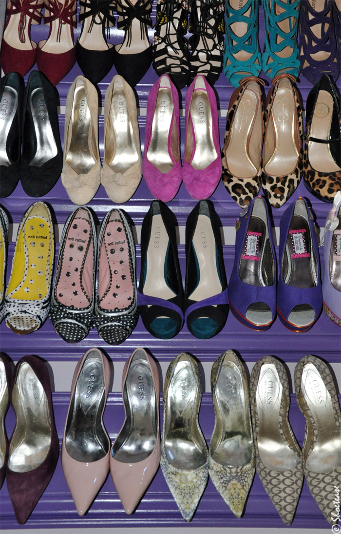 DIY shoe rack like pinterest