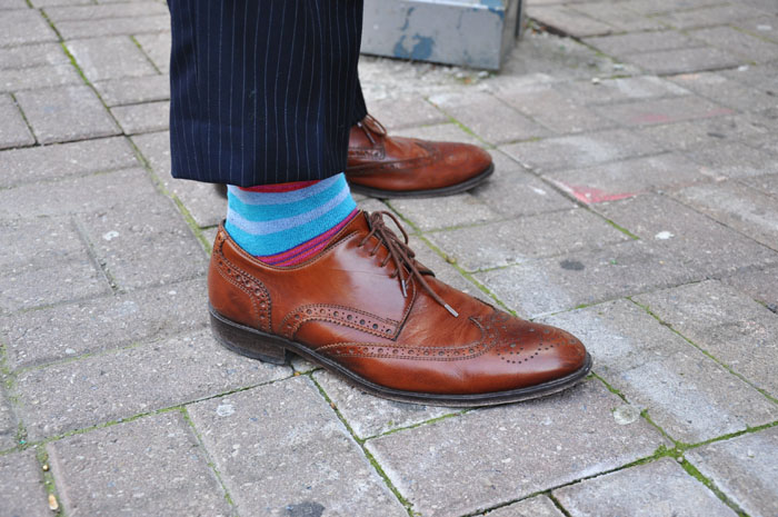 Mens Street style brogues