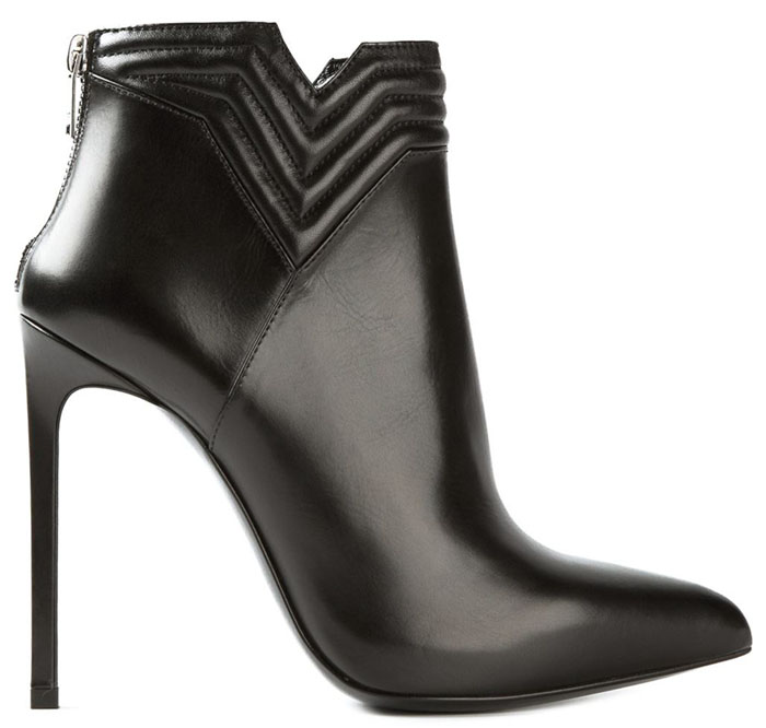 Saint Laurent Black Ankle boots fall