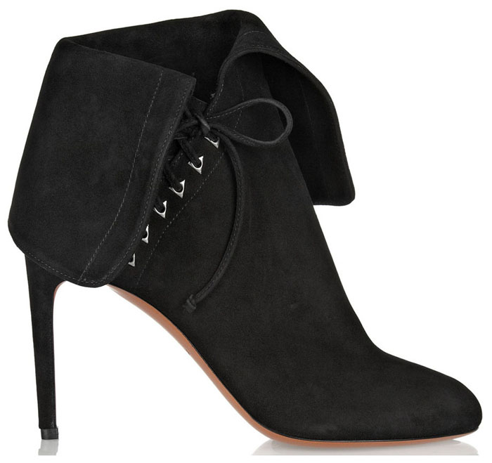 Alaia Shoes Fall 2014 Inspiration Alaia Black Ankle boots for