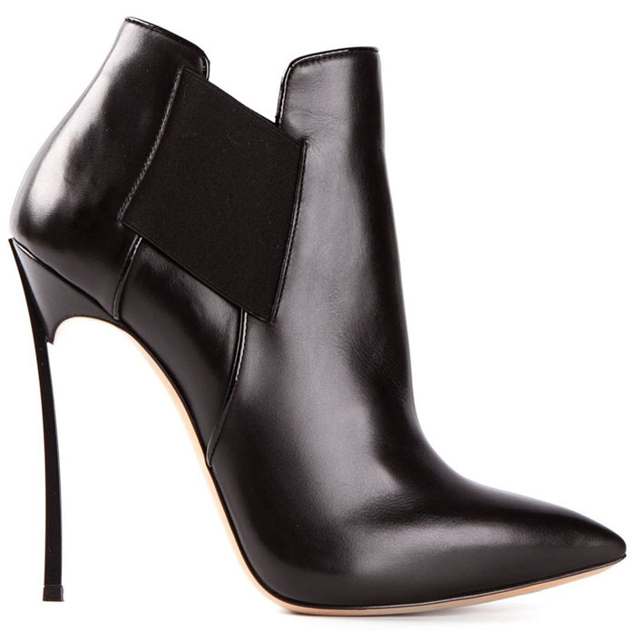 Casadei Black Ankle Boot for Fall 2014