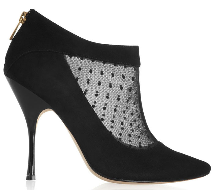 Lucy Choi ankle boots for fall 2014