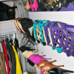 Toronto Shoe Closet with DIY Shoe Storage Inspired by Pinterest!
