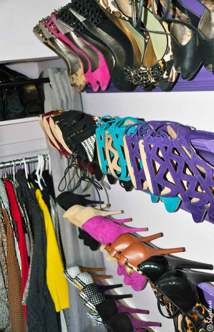 diy shoe storage for heels 2
