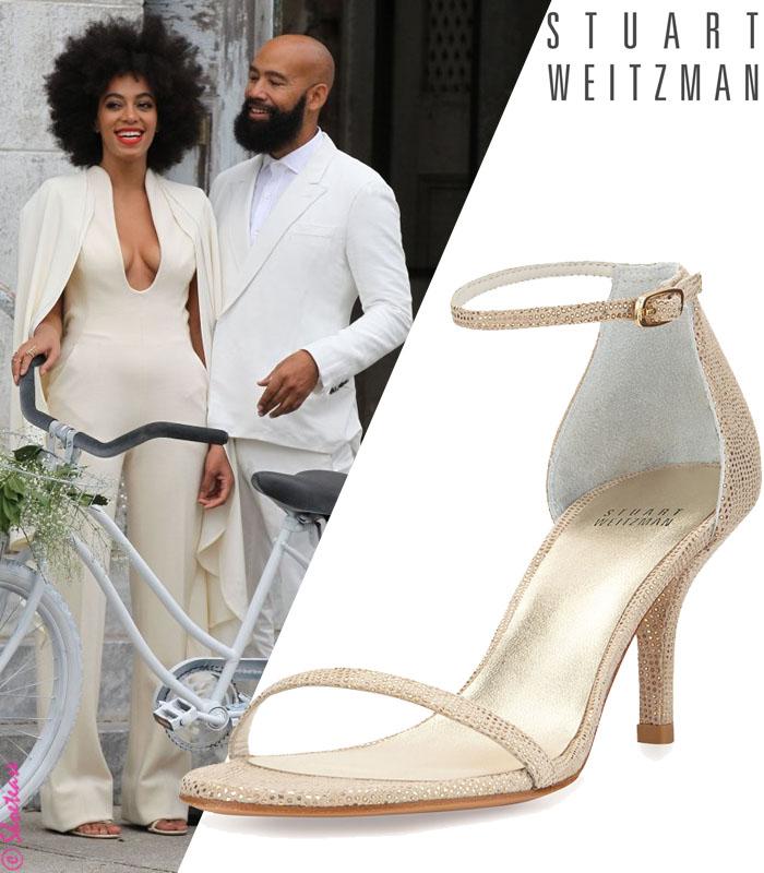 Stuart Sandals Solange ShoesOff Weitzman Naked White Wedding 1cKFlJ