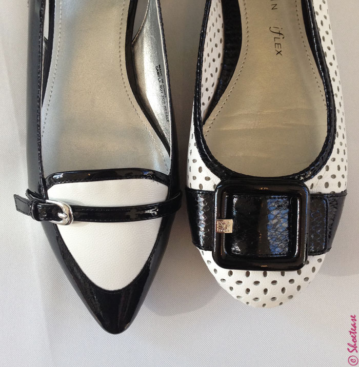 spring 2015 shoe trends - black and white