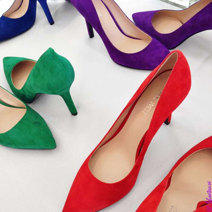 spring 2015 shoe trends bright suede