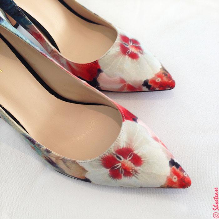 spring 2015 shoe trends florals