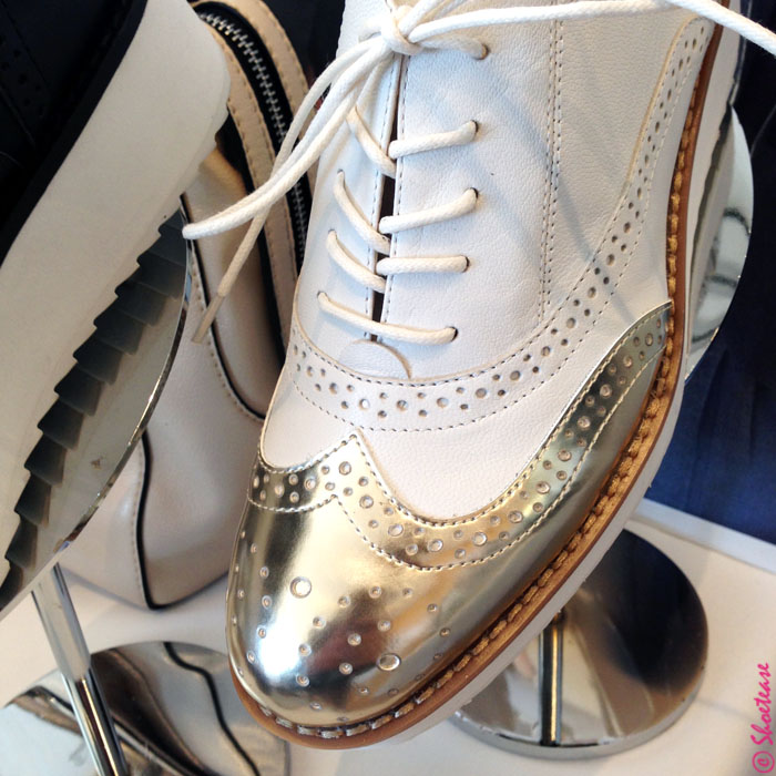 spring 2015 shoe trends metallic brogues