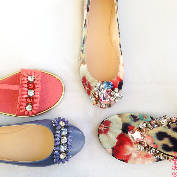 spring 2015 shoe trends rhinestones