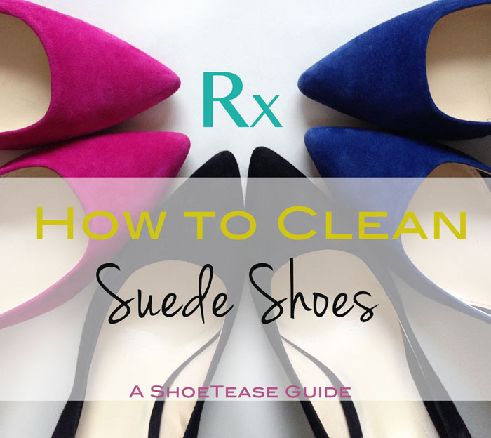 How to clean suede shoes 2