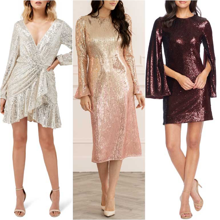 Nude Beige shoes to wear with Sequin Dresses