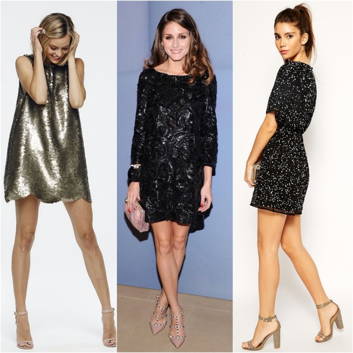 Shoes to Wear with Sequin Dresses