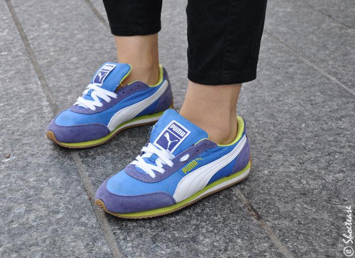 Toronto Street style sneakers Puma