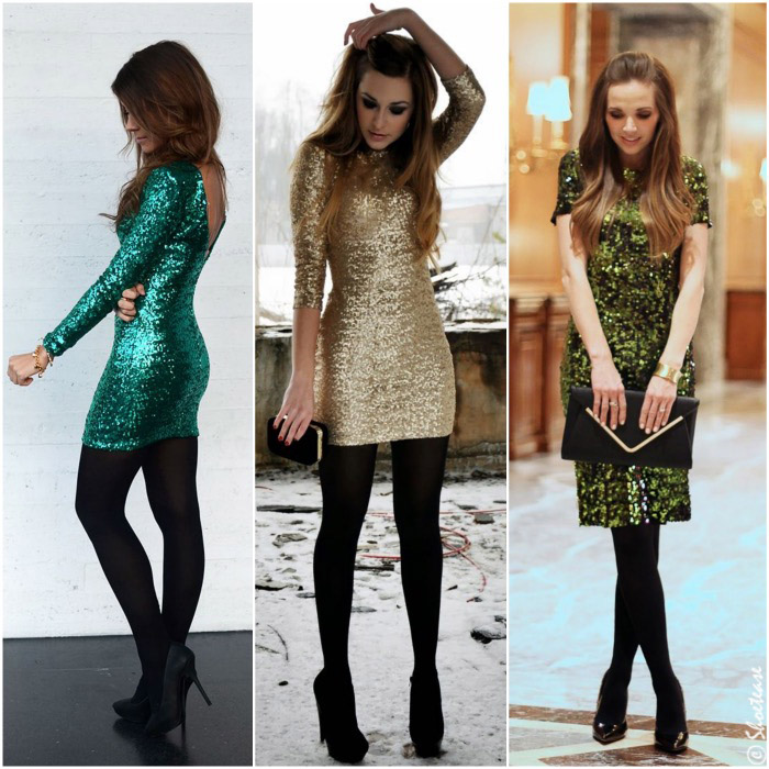 What Shoes to wear with Sequin Dresses