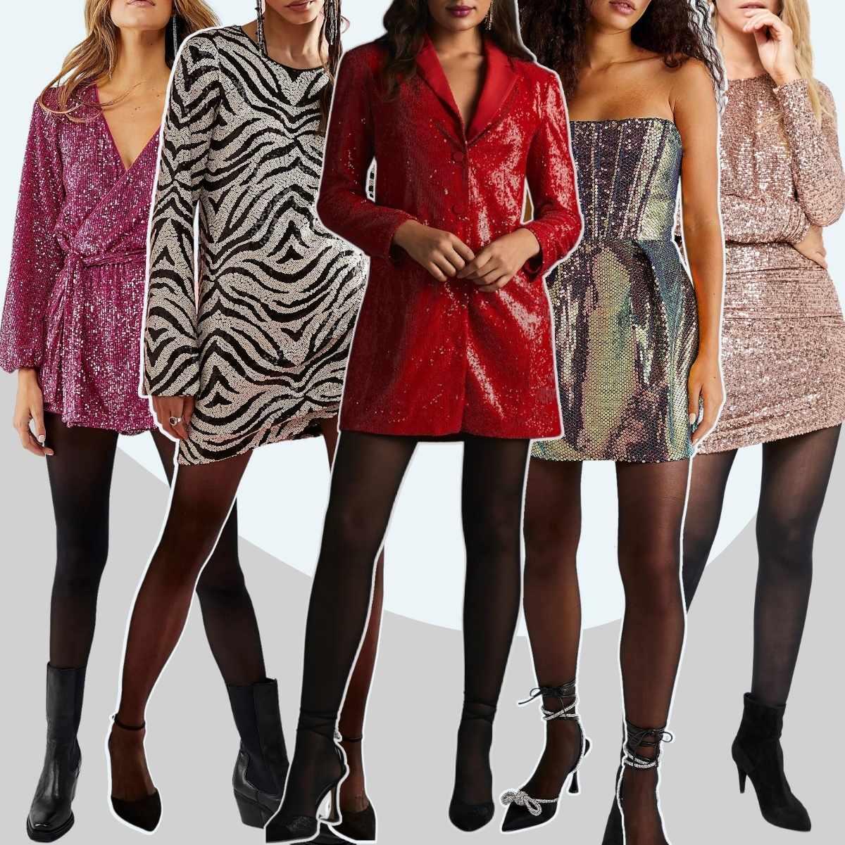 Quelles chaussures porter avec des robes à paillettes