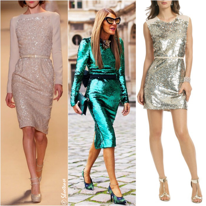 what shoes to wear with sequin dresses matchy