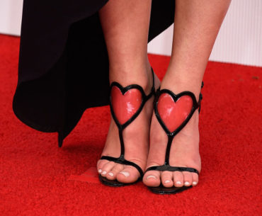 Heart Valentine Shoes by Christian Louboutin