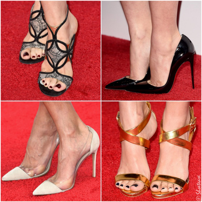 516a43feee Trending Red Carpet Shoes at the 2015 People s Choice Awards