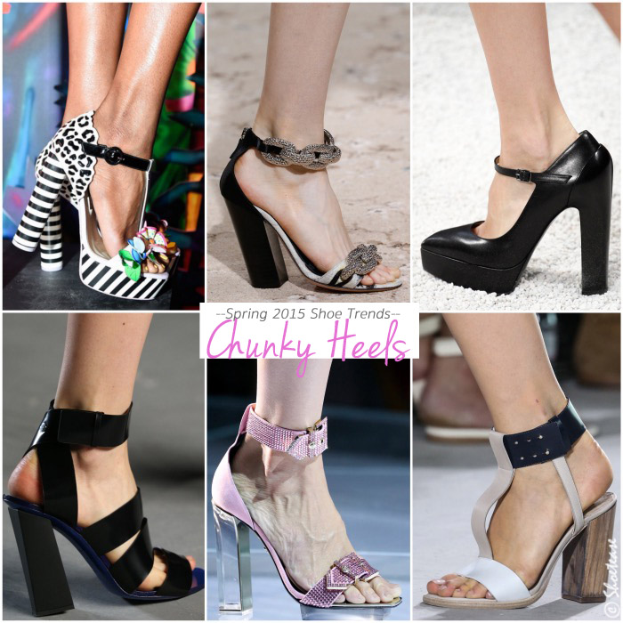 Best Spring 2015 Shoe Trends