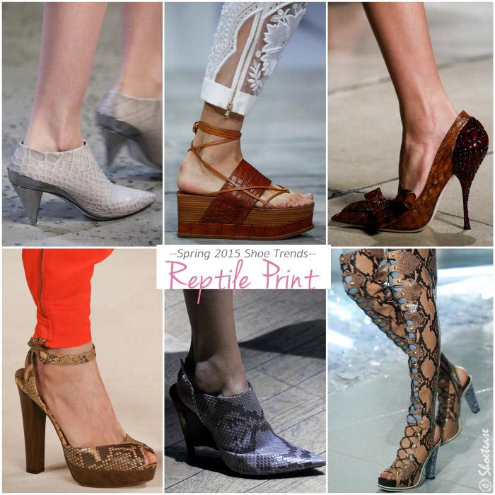 Runway Spring 2015 Shoe Trends