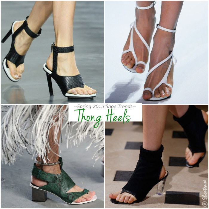 Spring 2015 Shoe Trends Thongs