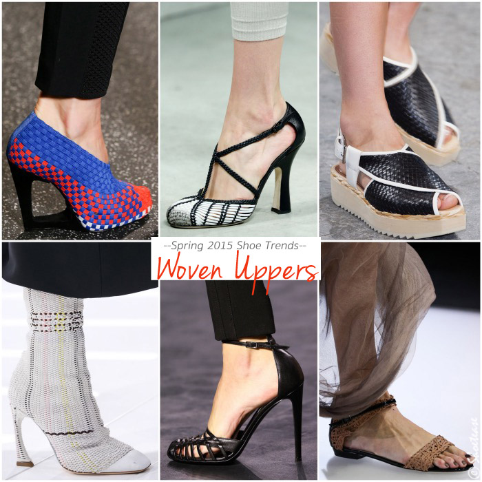 Spring 2015 Shoe Trends Woven