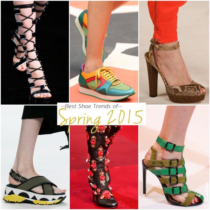 Best Spring 2015 Shoe Trends