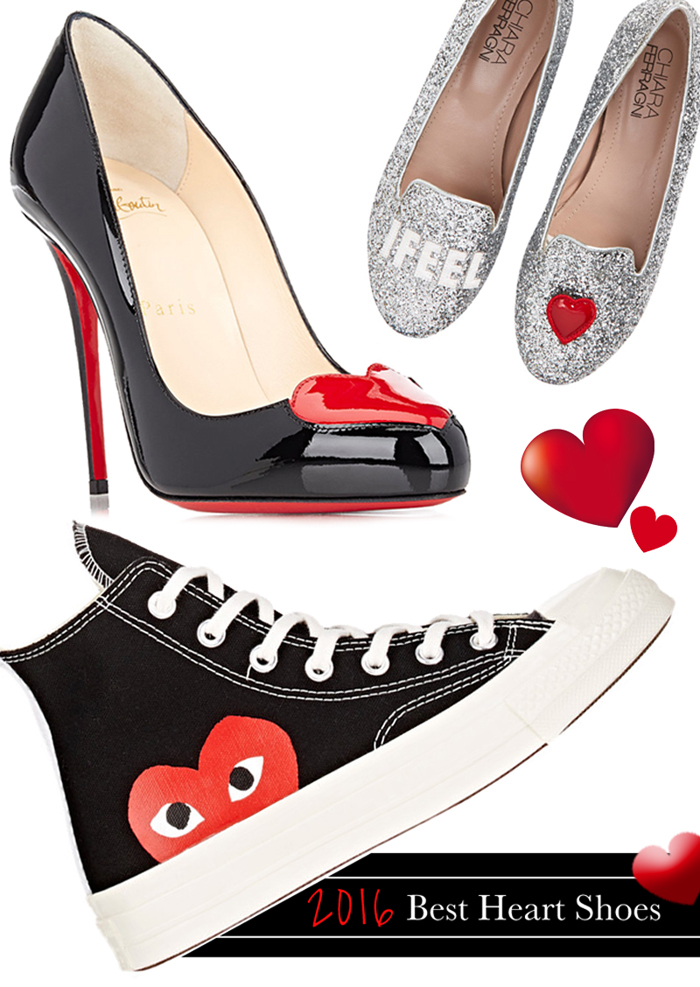 Heart shoes 2016