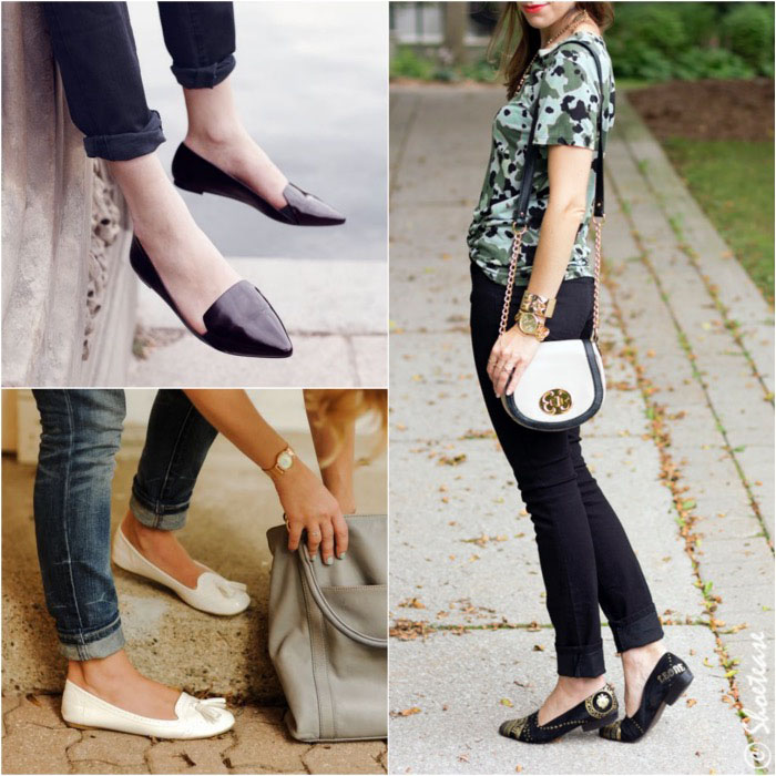 Shoes to Wear with Skinny Jeans - Slippers