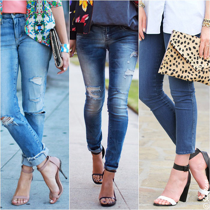 f7fa96dfd7d Skinny Jeans with Sandals. shoes to wear with skinny jeans