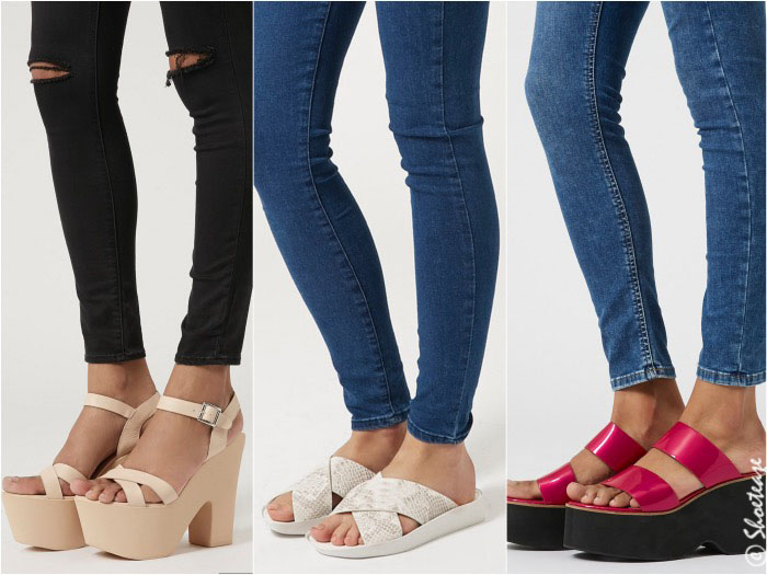 shoe to wear with skinny jeans - not