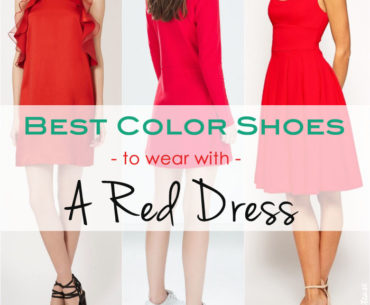 Best Picks – What Color Shoes to Wear With a Red Dress