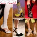 Shoe-Styling Trend: Socks and Sandals for Spring 2015