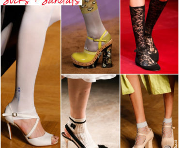 Spring 2015: Socks and Sandals