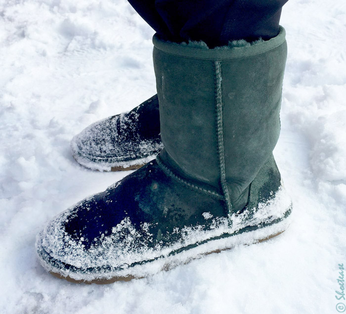 Shoes Not to Wear in the Snow