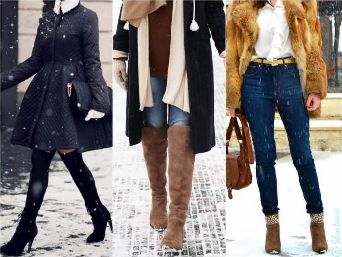 shoes not to wear in the snow - suede