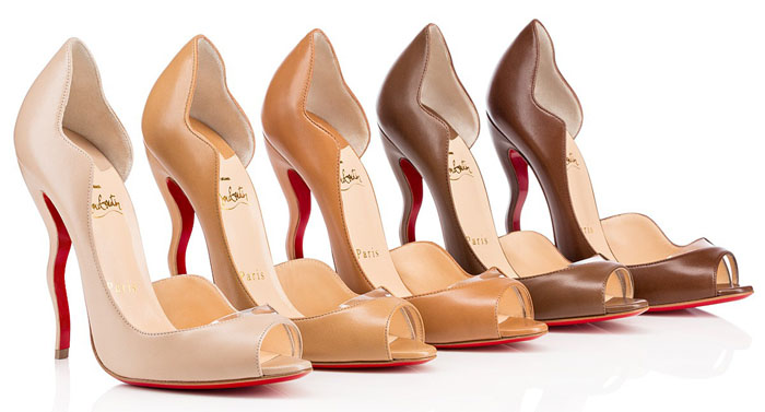 9825e0666c9 Christian Louboutin Further Extends New Nude Pumps for all Skin Tones!