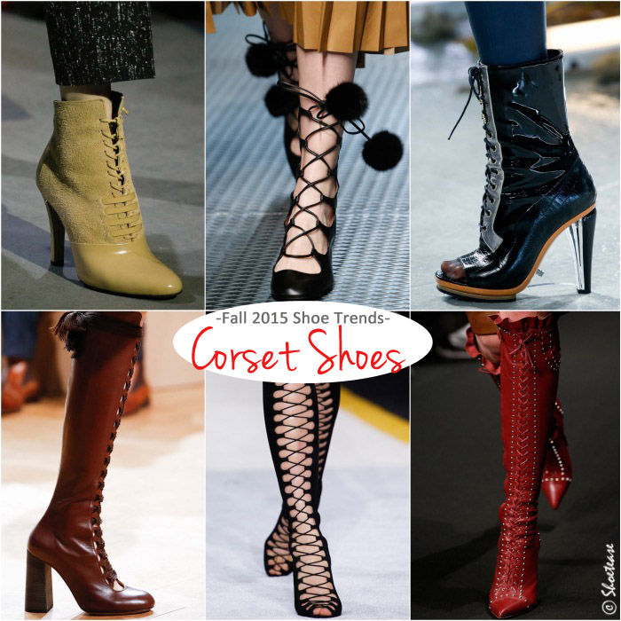 Top Fall 2015 shoe trends - laced