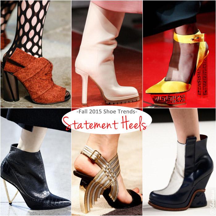 Top Fall 2015 shoe trends