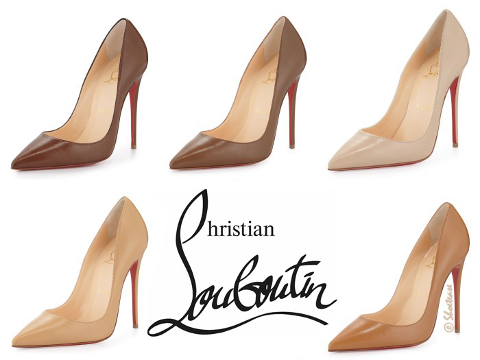 Shop Christian Louboutin New Nude Pumps for Spring 2015