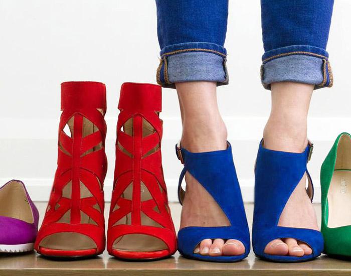 colorful shoes nine west