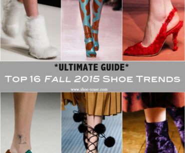 Top Fall 2015 shoe trends