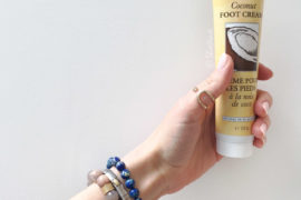 Natural foot cream review