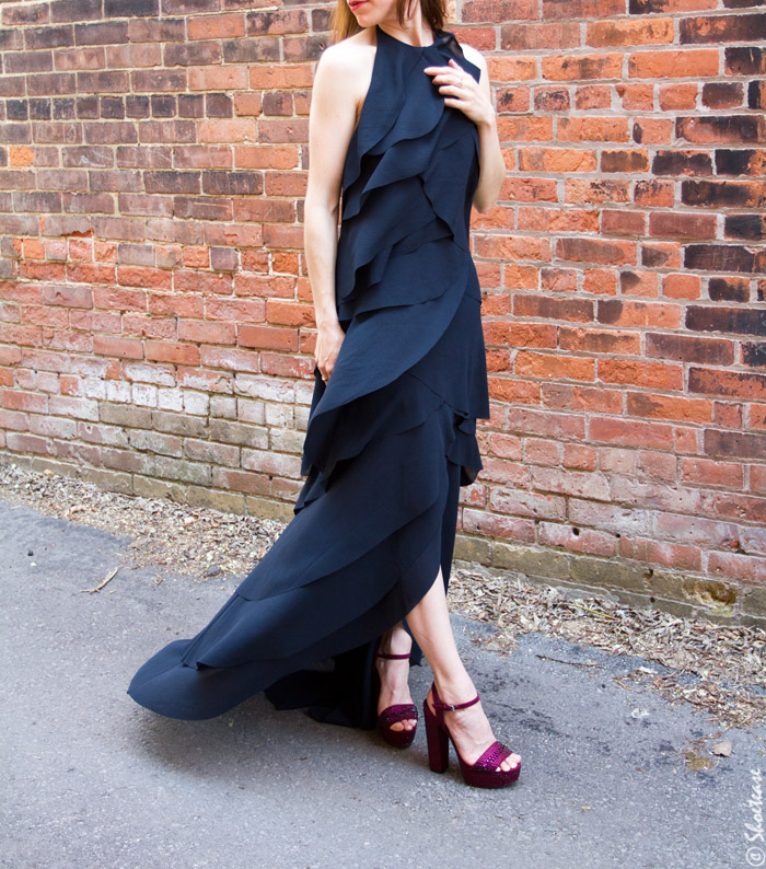 chunky platform sandals styling