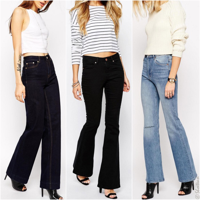 Top 7 Shoes to Wear with Flare Jeans in 2018