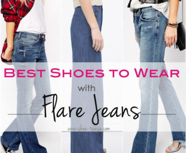 Shoes to Wear with Flare Jeans