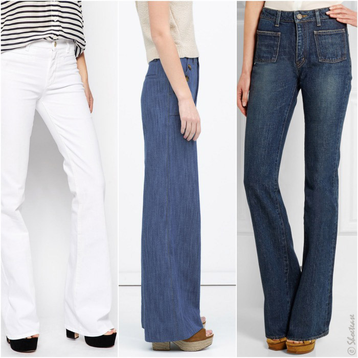 What Kind of Shoes do You Wear With Flared Jeans Shoes to Wear With Flare Jeans
