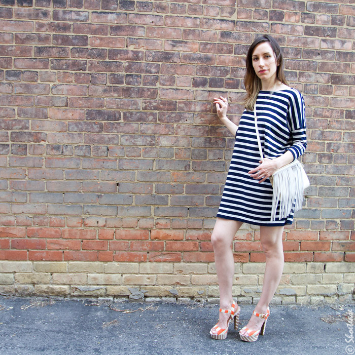 Shoes with Stripes on Stripes